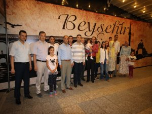 Beyşehir'e veda edecek yargı mensupları onuruna iftar