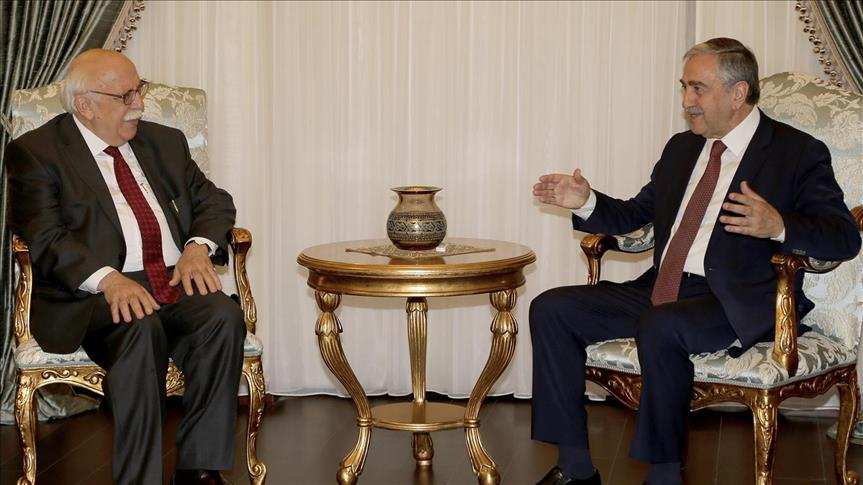Turkish tourism min. meets Turkish Cypriot president