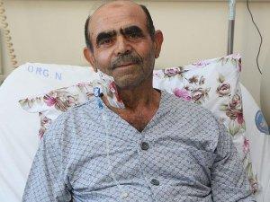 71 yaşında hayata yeniden tutundu