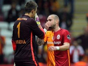 Muslera ve Sneijder ayrılıyor mu? Başkan açıkladı