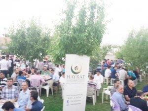Hayrat İnsani Yardım'dan iftar programı