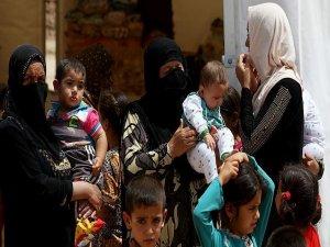 Musul'dan kaçanların sayısı 3 binden 14 bine yükseldi