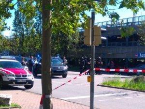 Almanya'da sinema salonuna saldırı