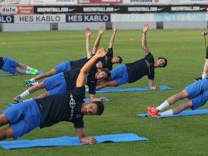 Trabzonspor yeni sezon öncesi ilk çalışmasını yaptı