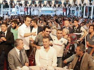 Beşiktaş Kulübü iftar verdi