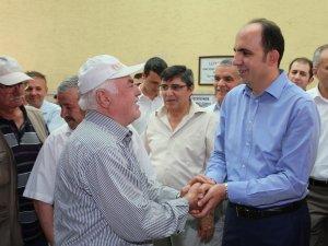 Başkan Altay'ın cuma buluşmaları sürüyor