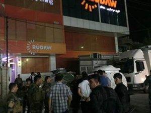 Kürt kanalına bombalı saldırı