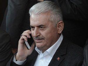 Başbakan Yıldırım İsviçre'deki iftara telefonla bağlandı
