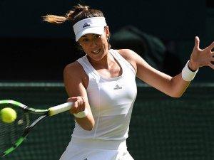 Muguruza Wimbledon'da ikinci turda