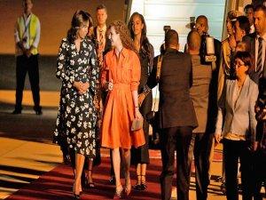 Michelle Obama kız çocuklarının eğitimi için Fas'ta