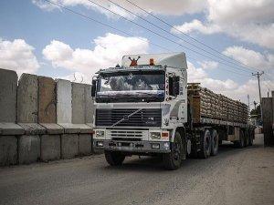 Mısır, Gazze'ye çimento girişine izin verdi