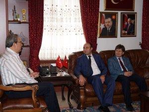 Nevşehir Belediye Başkanı Hasan Ünver'e ziyaret