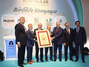 Konyalılar Ankara'da birliktelik mesajı verdi