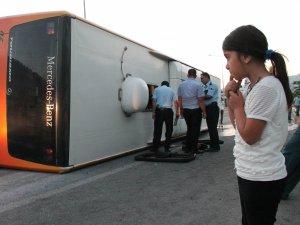Konya-Diyarbakır seferini yapan otobüs kaza yaptı: 27 yaralı
