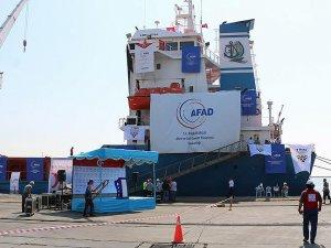 Gazze'ye yardımları ulaştıracak 'Lady Leyla' yola çıkmaya hazır