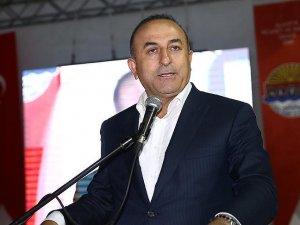 Çavuşoğlu: Türkiye'yi susturamazsınız, bizi yolumuzdan döndüremezsiniz