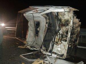 Konya'da kaza! 1'i ağır 4 kişi yaralı