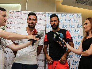 Galatasaraylı futbolcular yeni sezonu değerlendirdi