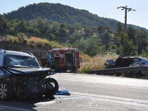 Antalya'da otomobil ile cip çarpıştı: 2 ölü, 6 yaralı
