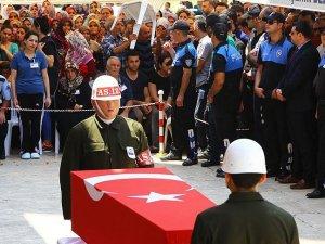 Şehit Astsubay Üstçavuş Demir son yolculuğuna uğurlandı