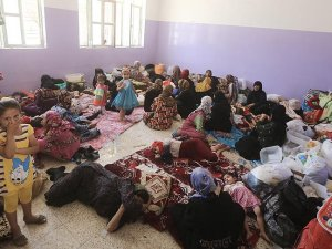 Felluce'de 12 bin 400 aile evinden oldu