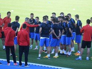 Trabzonspor'un 21 kişilik kamp kadrosunun yaş ortalaması 23,3