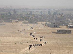 Musul'dan son bir günde 2 bin sivil kaçtı