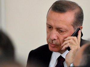 Erdoğan'dan Irak Cumhurbaşkanı Masum'a bayram ve taziye telefonu