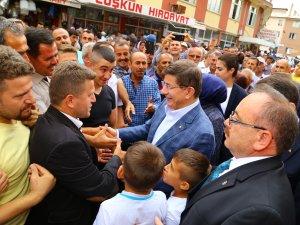 Davutoğlu Hadim ve Taşkent'i ziyaret etti