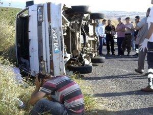 Piknik dönüşü feci kaza: 1 ölü, 3 yaralı