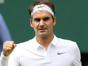 Federer Wimbledon'da yarı finalde