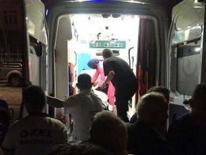 Rize'de toprak kayması: 2 yaralı
