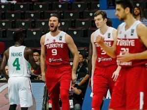Türkiye potada yarı finalde