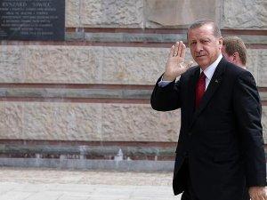 Erdoğan NATO Zirvesi'nin yapılacağı Ulusal Stadyum'da