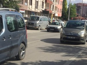 Konya-Ankara karayolunda trafikte yoğunluğu