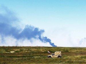 Irak ordusu Geyare Askeri Havaalanı'nı kontrol altına aldı
