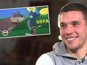 Podolski'den F.Bahçe'yi kızdıran paylaşım!