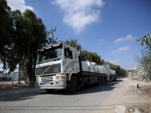Yardımlar yarın sabah Gazze'ye girmeye başlayacak