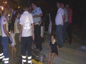 Başkent'te sıkışmalı trafik kazası: 4'ü çocuk, 11 yaralı