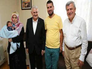 Başbakan Yıldırım, Kocaeli'de vatandaşlarla bir araya geldi