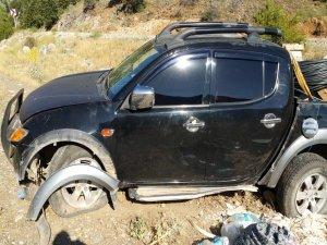 Derebucak'ta trafik kazası: 2 yaralı