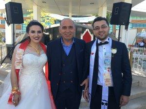 Mehmet Uğur oğlu Cafer'i evlendirdi