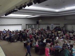 AYDER'den Suriyeli çocuklara bayram eğlencesi