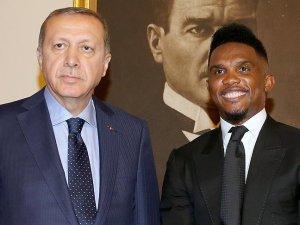 Samuel Eto'o'dan Erdoğan'a teşekkür mesajı