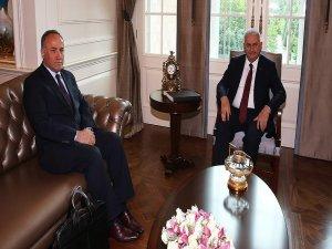 Başbakan Yıldırım, Hacımüftüoğlu'nu kabul etti