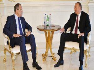 Aliyev ile Lavrov Dağlık Karabağ sorununu görüştü