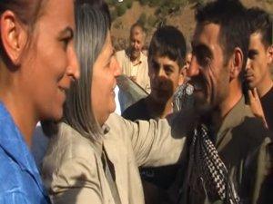 BDP milletvekilleri ile kucaklaşan terörist Menbiç'te ortaya çıktı