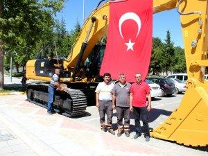 Seydişehir Belediyesine yeni iş makinesi