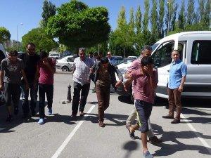 Beyşehir'deki bıçaklı kavgada 7 tutuklama
