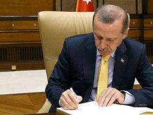 Erdoğan'dan TSK kanununa onay